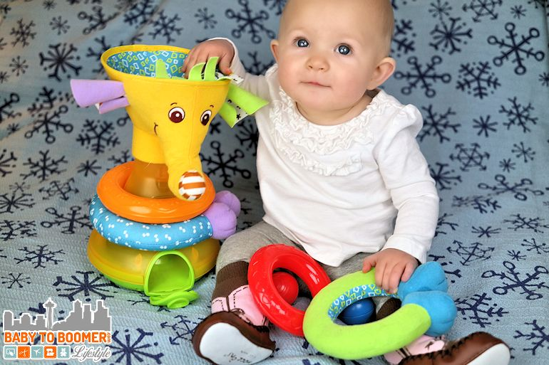 Tiny Love: Bright and Fun Developmental Infant Toys ad