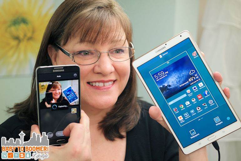 Samsung Tab S 8.4 Tablet vs Note 3 - sponsored