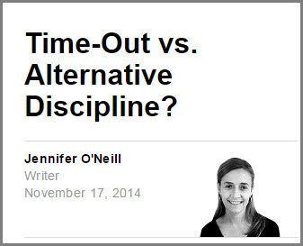 Sponsored Time-out vs alternative discipline by Jennifer O'Neill - Parenting Debate: Time-Out vs. Alternative Discipline? #YahooParenting #CG @YahooParenting