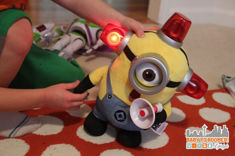 Despicable Me Minion Light Up Toy - Thinkway Toys for the Holidays - Shop Your Favorite Characters - ad