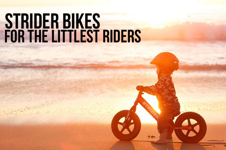 Strider Bikes teach kids to ride