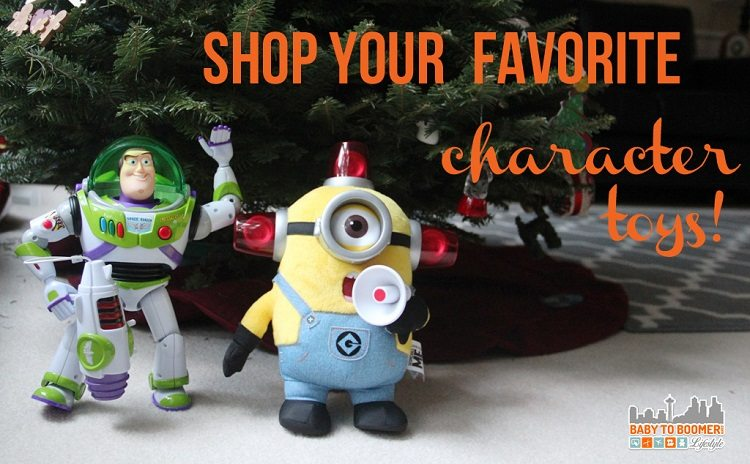 thinkway toys character figures