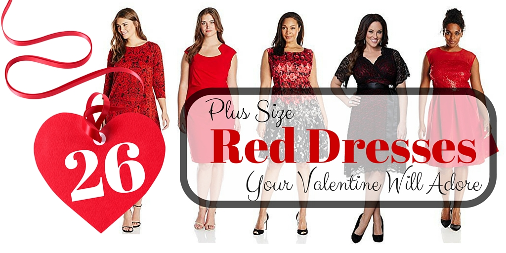 Plus Size Red Dresses Your Valentine Will Adore