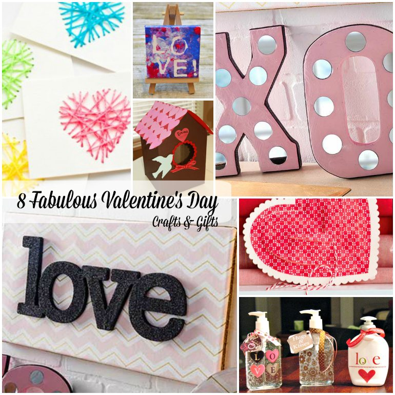 8 Valentines Day Crafts and Gifts