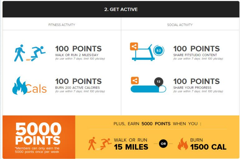 FitStudio Sign Up - Step Two FitStudio.com Points for Progress - Earn for Working Out! #Achieve15 Ad #IC
