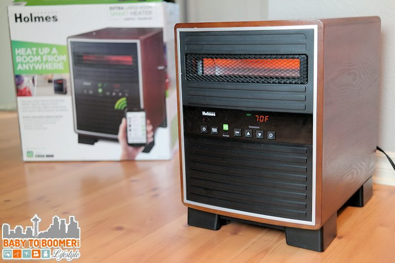 Heating Our Empty Nest: Holmes Smart Console Heater with WeMo ad
