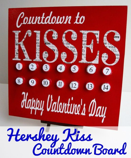 Infarrantly Creative Count Down to Kisses