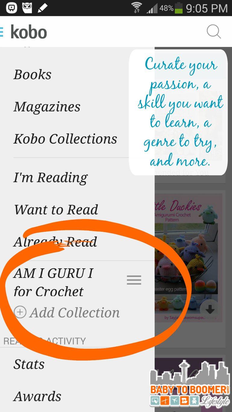 Kobo Free eReader App Curator - sponsored
