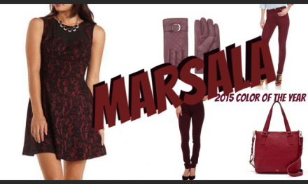 MARSALA Inspired Fashion Options – Wear the #ColoroftheYear