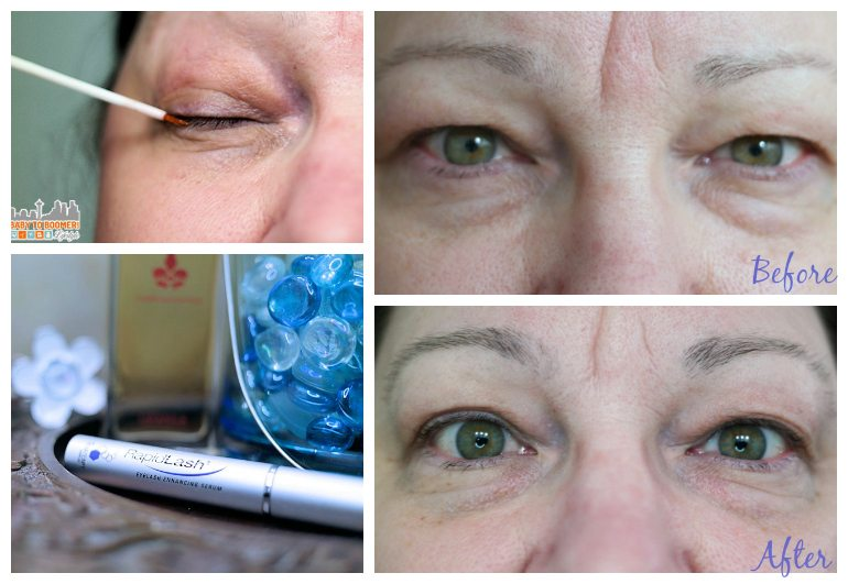 RapidLash Trial - Before and After Pictures - Can Eyelashes and Eyebrows Be Rejuvenated? #RapidLash #IC Sponsored