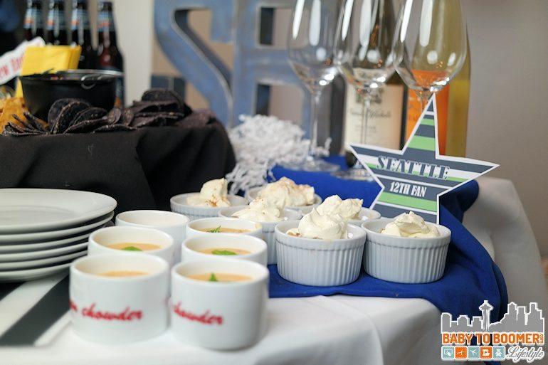 Souper Bowl Party Ideas - Seattle Seahawks Easy Souper Bowl Party Ideas and Recipes #QuesoForAll ad