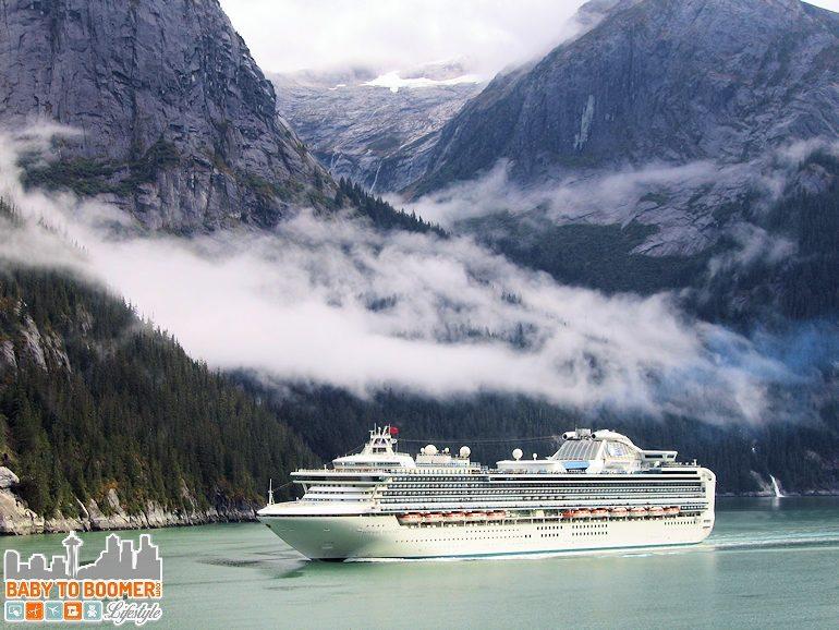 Tracy Arm Fjord - Alaska Cruise - ad