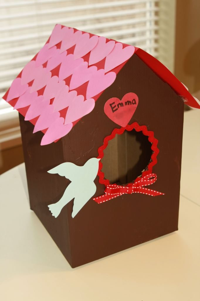 Valentines Day Birdhouse
