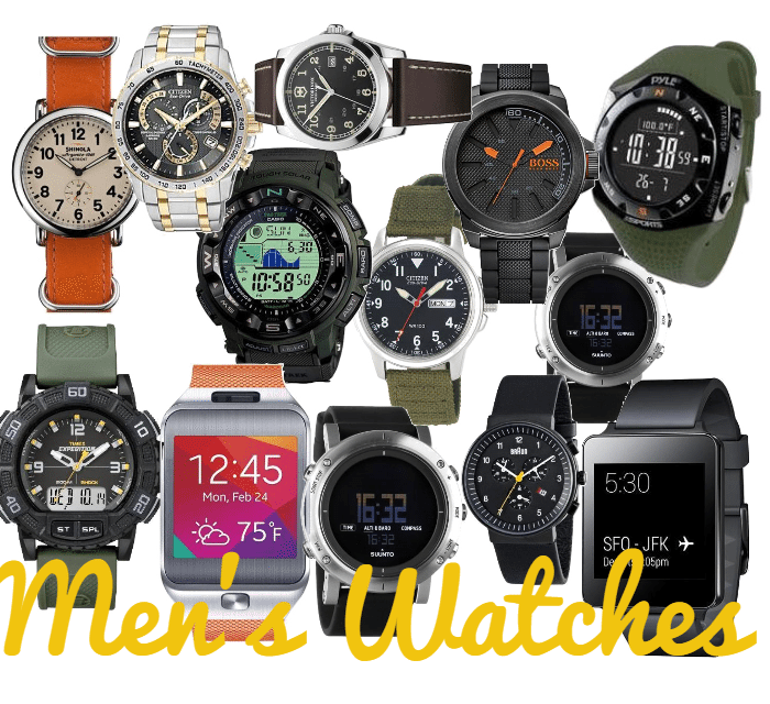 Mens Watches for Work or Play