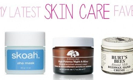 Favorite Skincare Products Of A Busy Mom