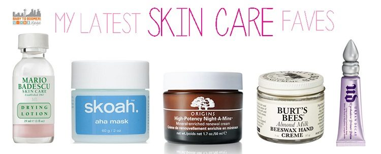 favorite skin care products of a busy mom