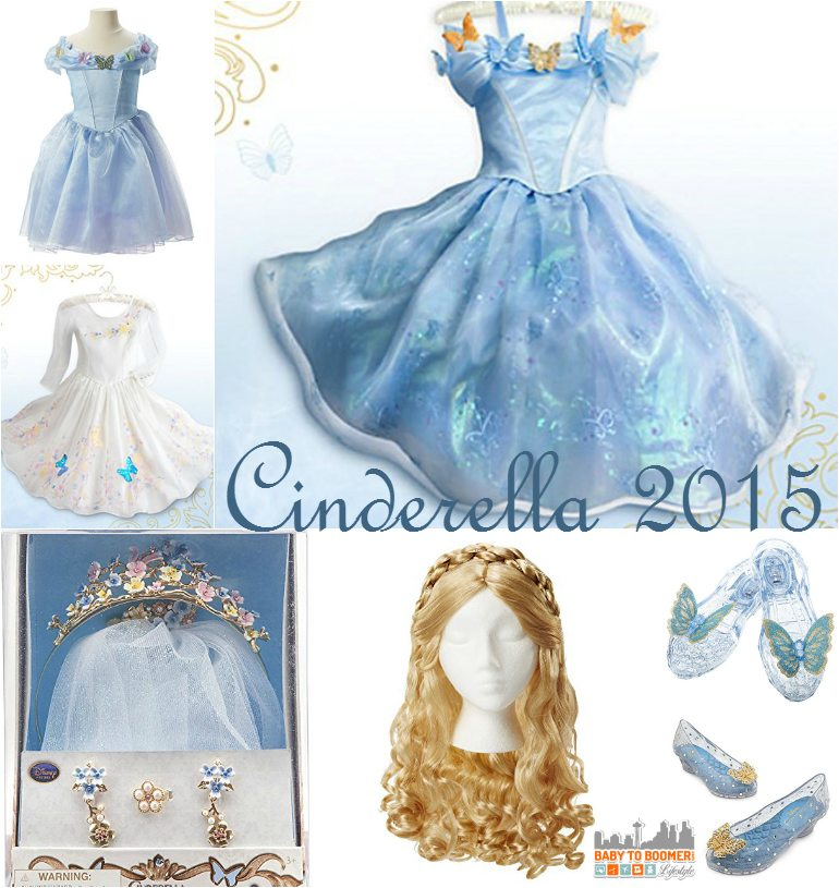 Cinderella 2015 Costumes Girls Dresses Shoes Amp Jewelry