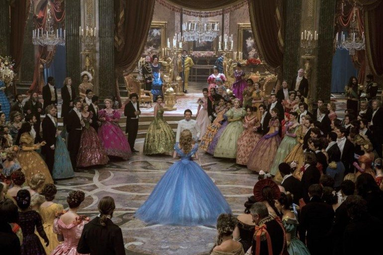 Cinderella Movie 2015 - They Dance - Cinderella's stunning blue ballgown - My take on how Disney reimagined the classic animated film and why I'll be seeing it after the viewing the trailer.  Walt Disney Studios