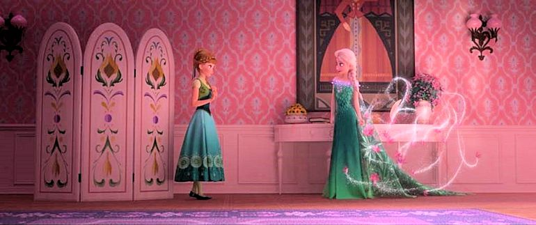 Disney Frozen Fever - Elisa and Anna - Disney FROZEN FEVER Short to Debut with CINDERELLA
