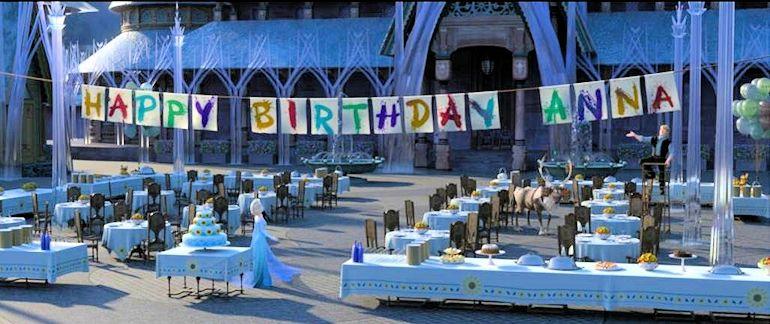 Disney Frozen Fever - Happy Birthday Anna Disney FROZEN FEVER Short to Debut with CINDERELLA
