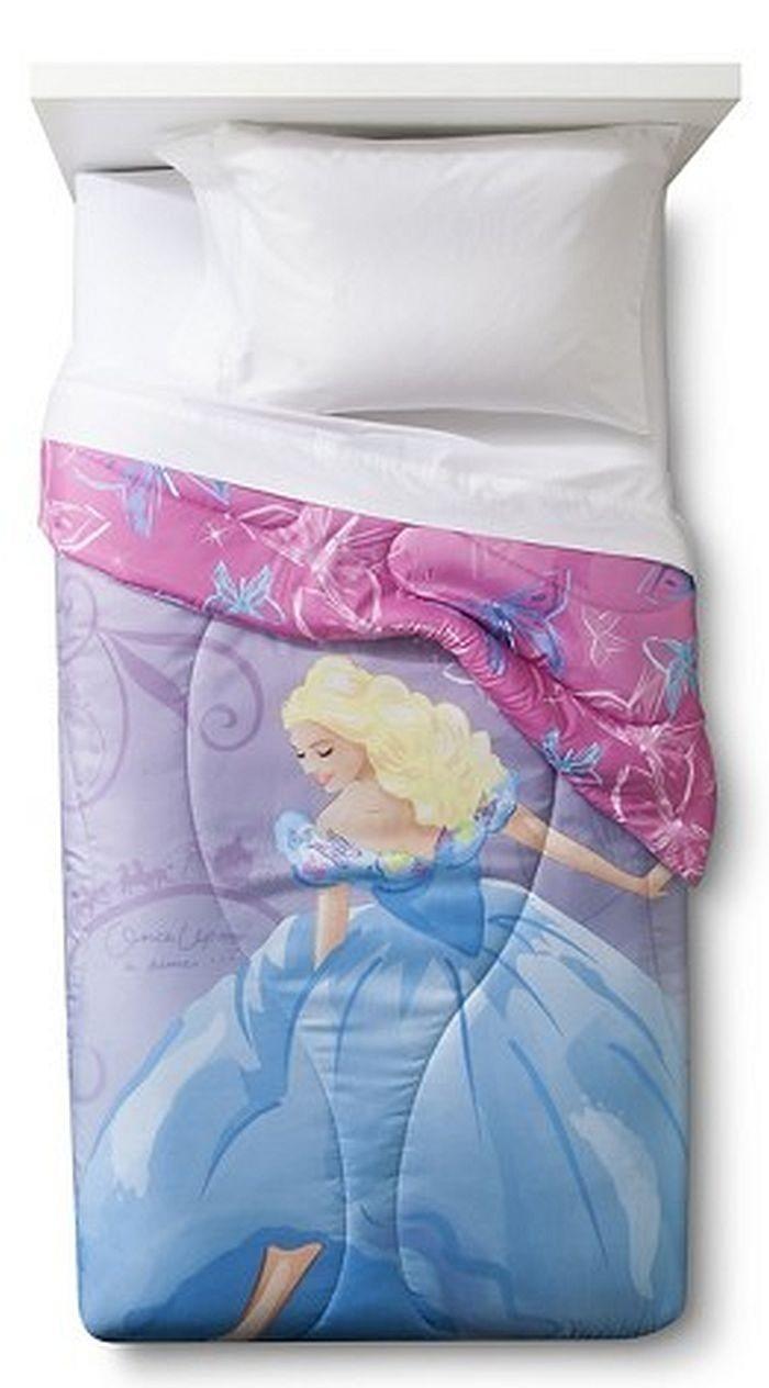 Live Action Cinderella Comforter