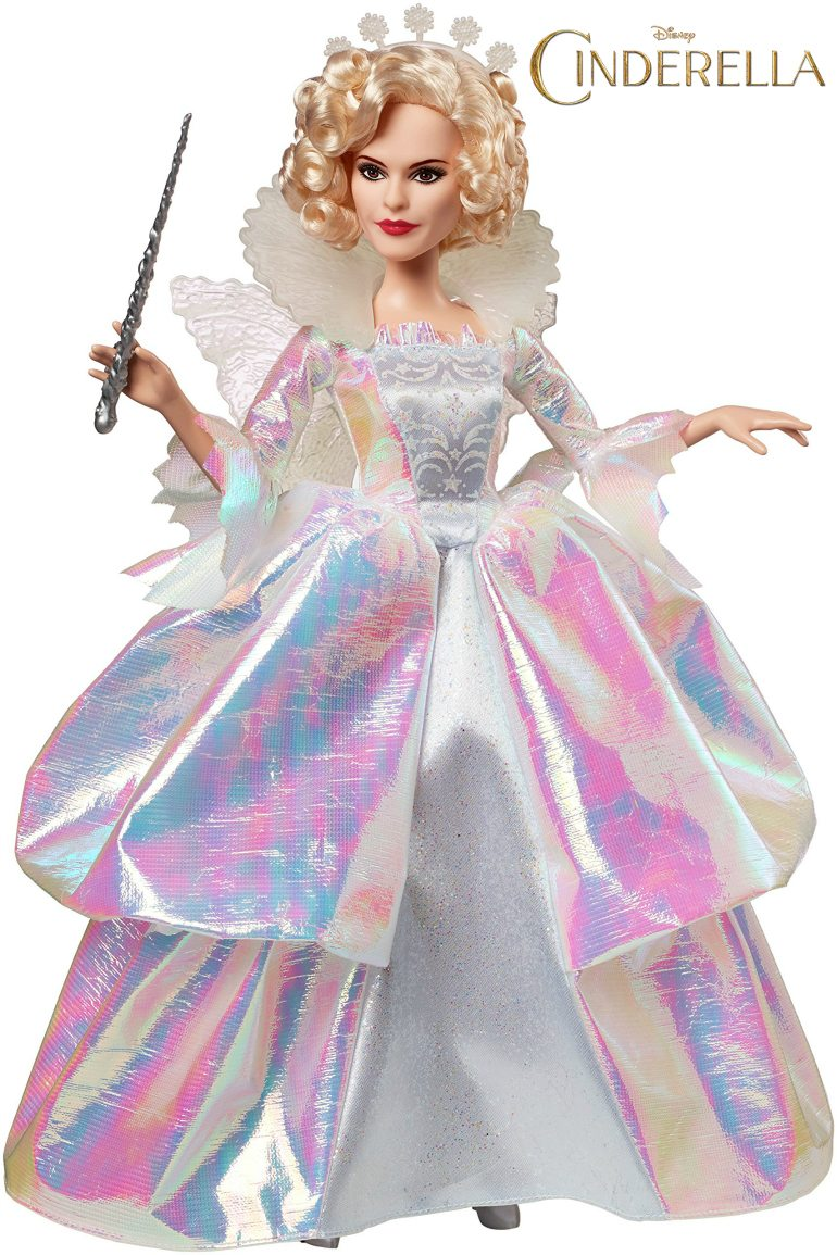 Disney Cinderella Fairy Godmother Doll by Mattel