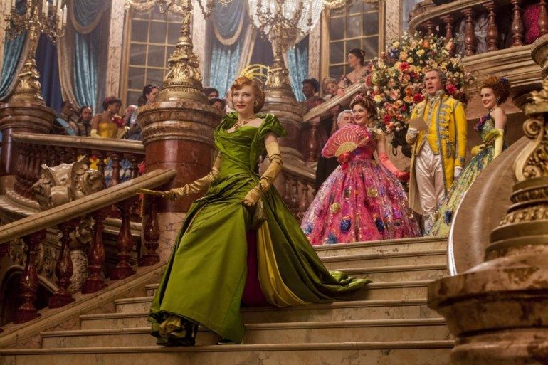 Cinderella's Stepmother and Stepsisters are announced at the ball Photo Credit: Walt Disney Studios
