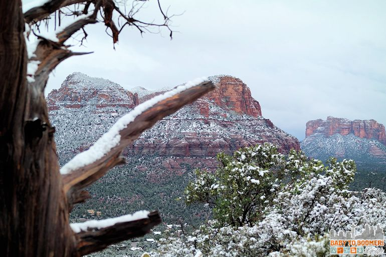 Sedona Airport Mesa Vortex - Late Snow - March 2015