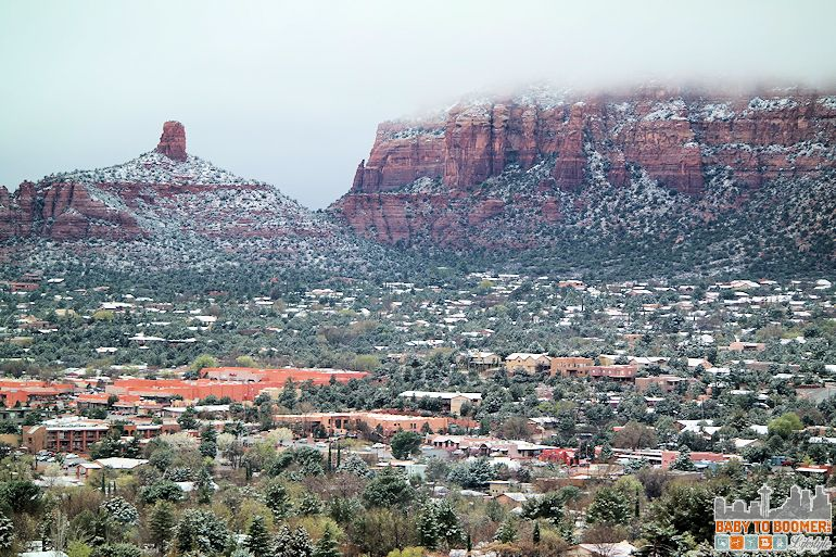 Sedona Airport Mesa Vortex - surrounding red rocks