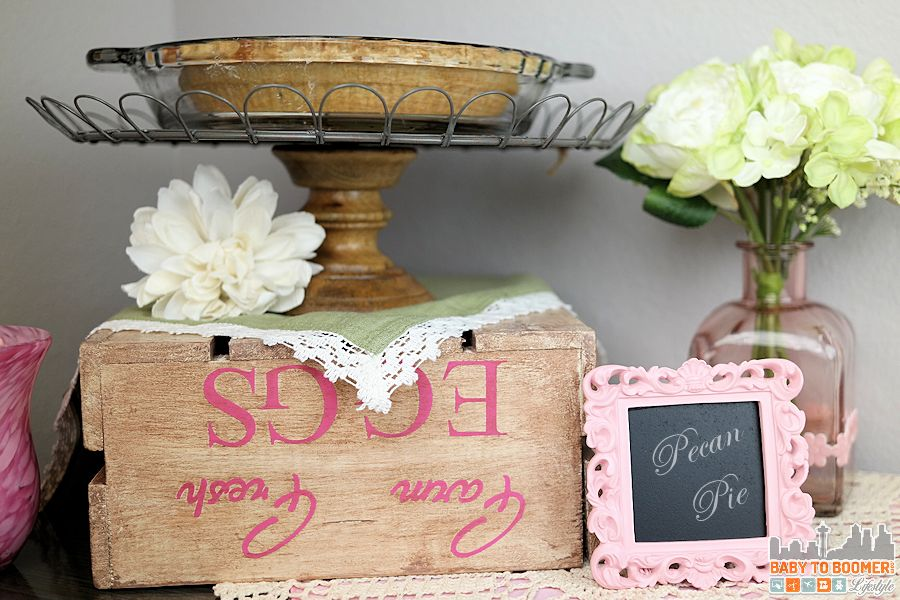 How to Create an Antique Paint Finish Wood Crate