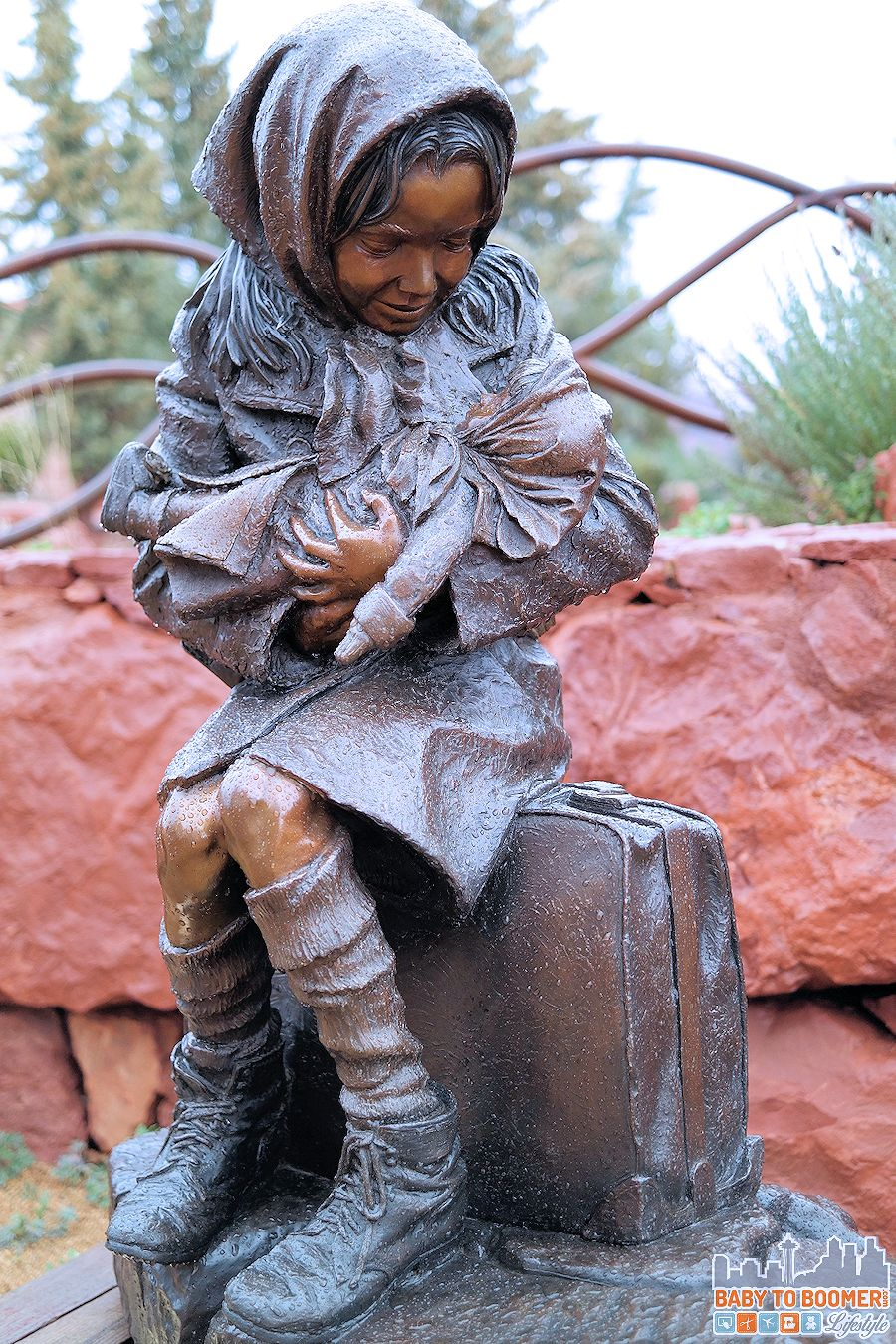 "Sedona Art: ""Children"" Sculpture by James Muir"