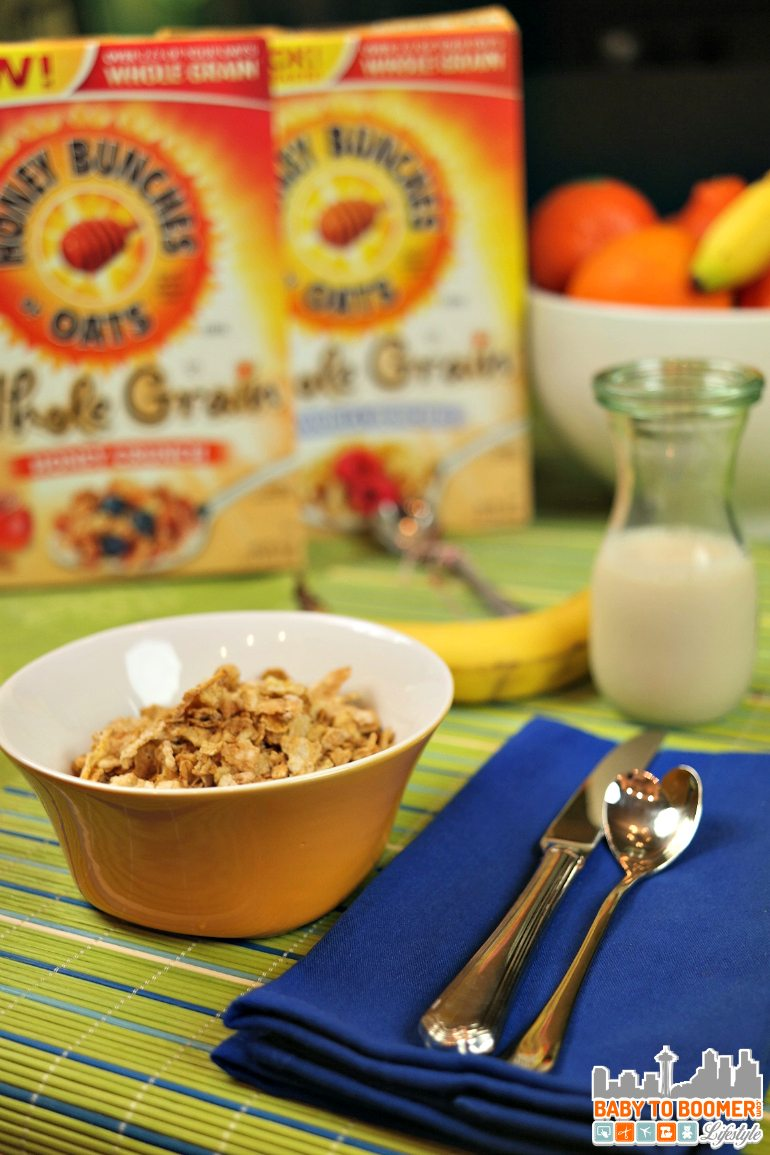 NEW Honey Bunches of Oats Whole Grain in Two Flavors! ad