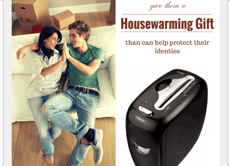 Housewarming Gifts: One That Helps Prevent Identity Theft
