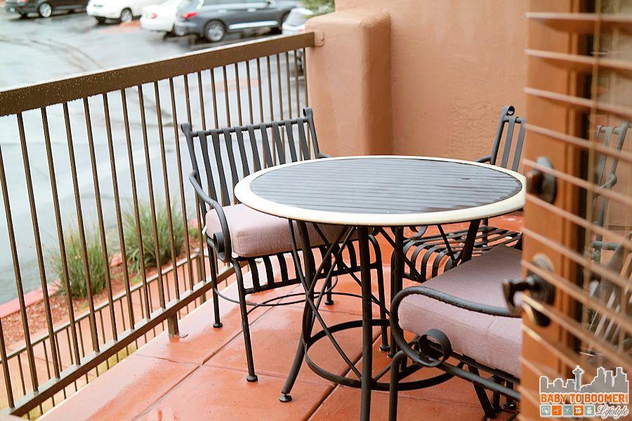 Sedona Summit Resort Balcony - Groupon Getaway to Sedona Summit Resort in Arizona #Travel #MyGrouponGetaway ad