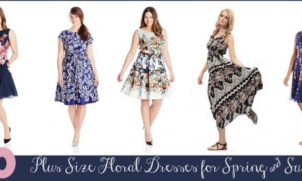 Spring 2015 Plus Size Dresses: Top 20 Florals