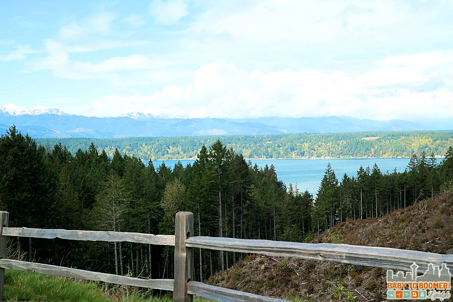 Hood Canal with the Olympic Mountains in the distance. #MyGrouponGetaway ad