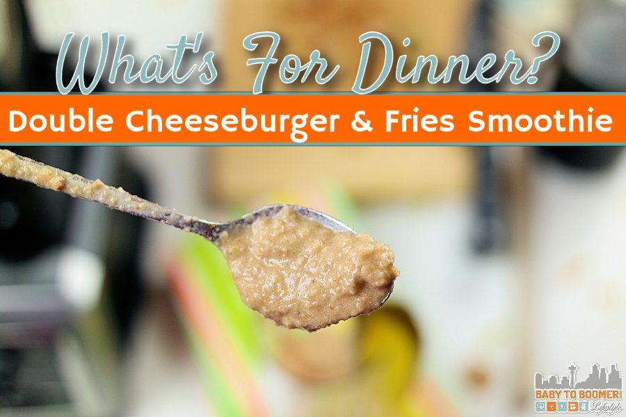 Double Cheeseburger Smoothie - Aspen Dental