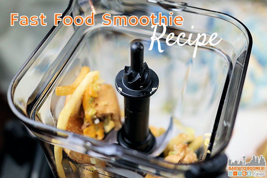 Easy Double Cheeseburger Smoothie Recipe