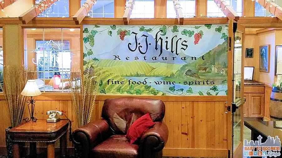 Icicle Village Resort - Leavenworth, WA  - JJ Hills Restaurant  ad