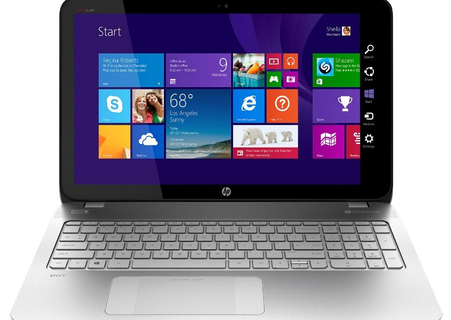 New HP Envy Touchsmart Laptop with AMD FX APU Exclusively at Best Buy