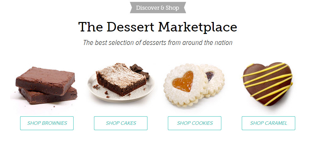 Orange Glad Dessert Marketplace
