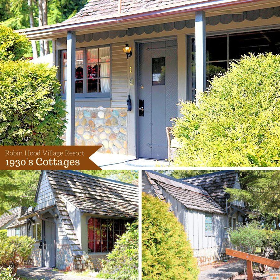 Robin Hood Village Resort Original 1930's Cottages - #MyGrouponGetaway ad