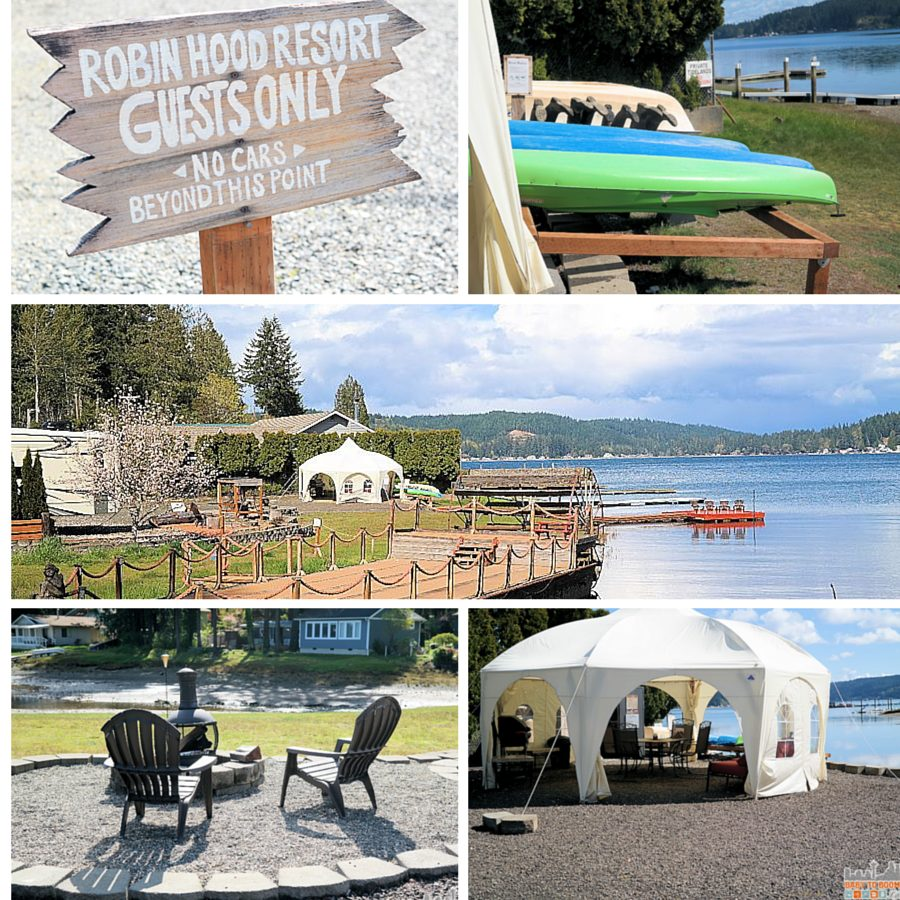Groupon Getaways: Robin Hood Village Resort Private Canal Access - #MyGrouponGetaway ad
