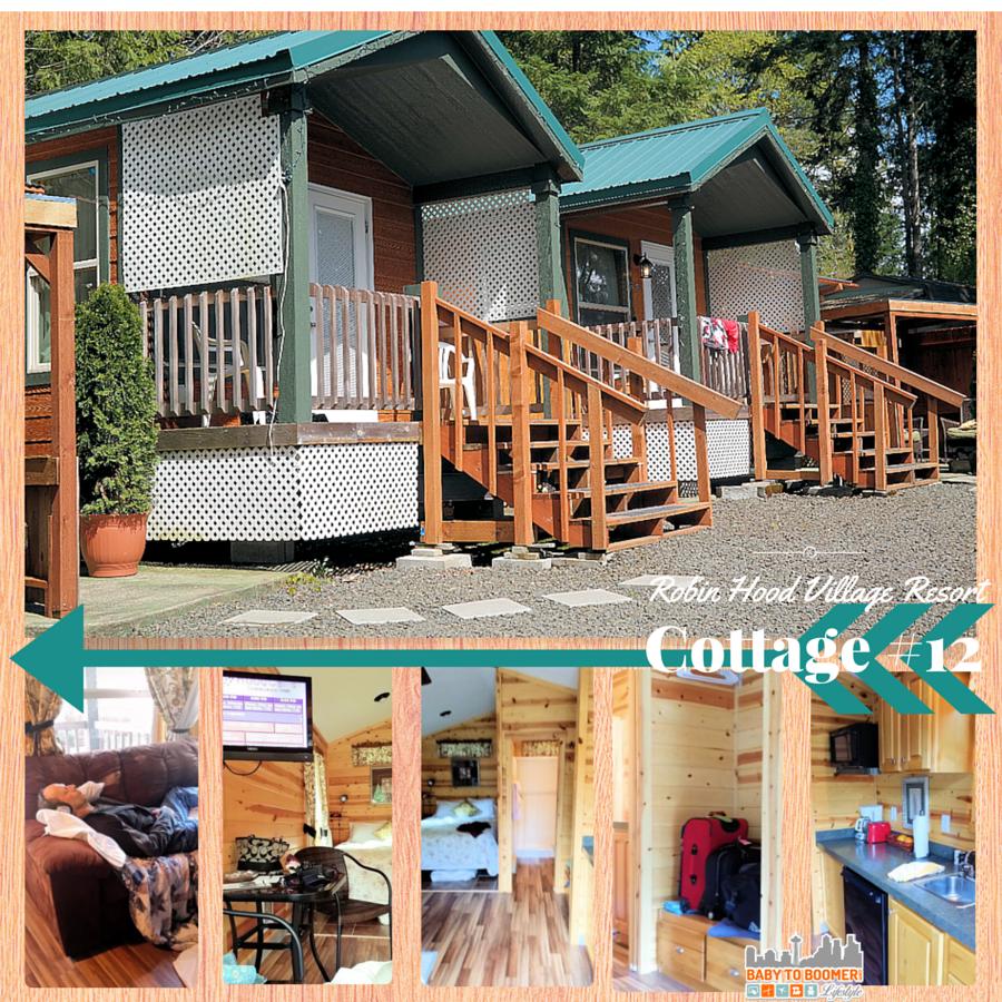 Robin Hood Village Resort Cottage 12 - #MyGrouponGetaway ad