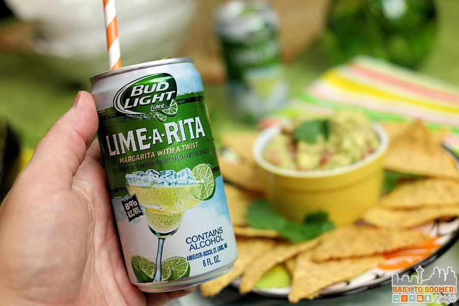 Spring Entertaining with  RO*TEL's Rockin' Guac and Bud Light Lime-A-Ritas @TheRitas  #ZestyInADash  #ad