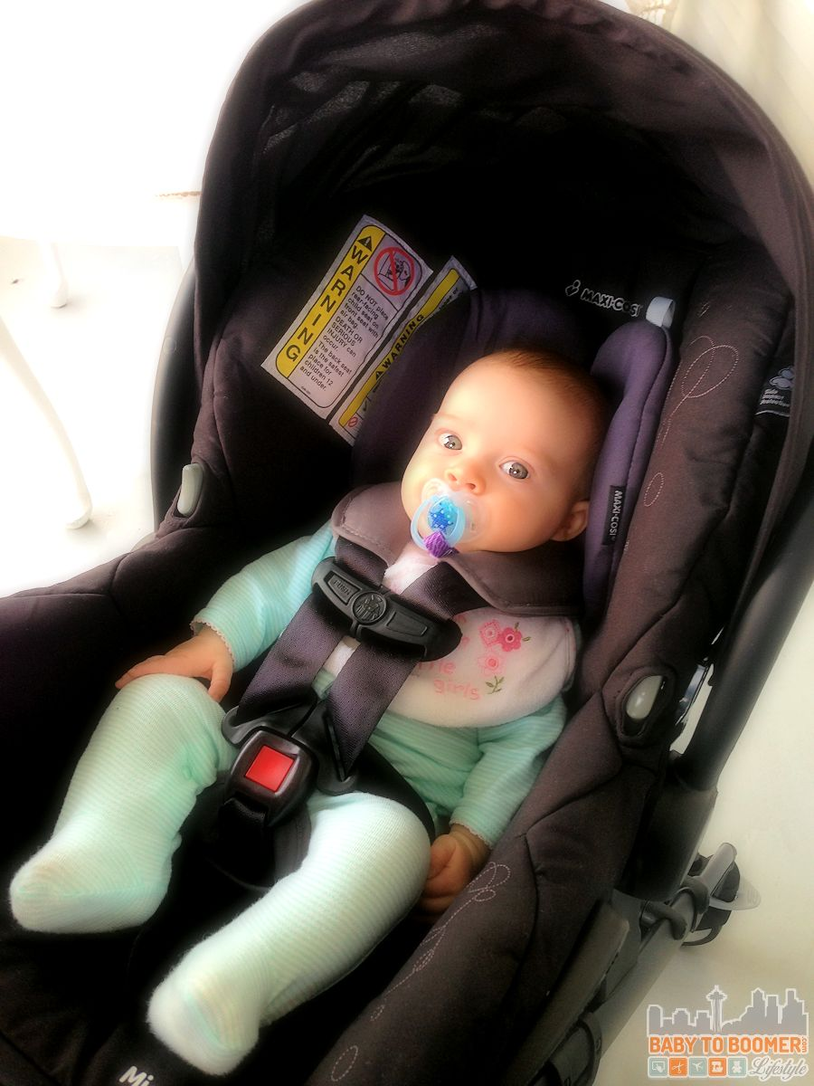 Trying out the Maxi-Cosi Maxi-Taxi and Infant Car Seat Carrier #MaxiCosiTarget ad