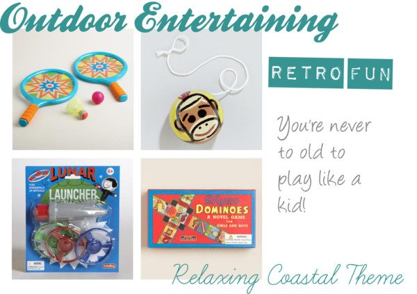 Outdoor Entertaining - Retro Fun