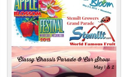 Apple Blossom 2015: May 1-3 Wenatchee, WA