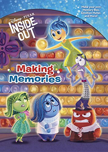 Disney | Pixar Inside Out - Making Memories (Full Color Activity Book)