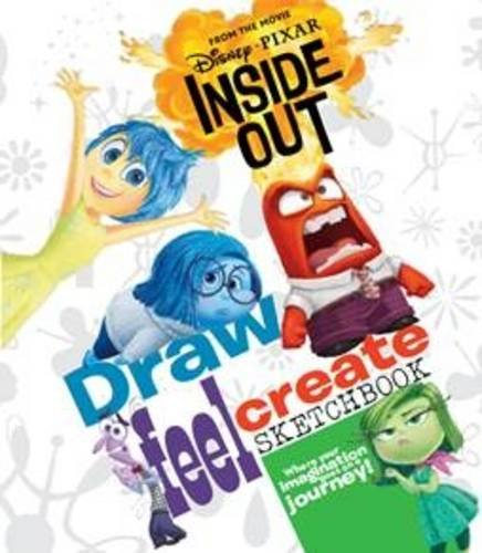 Disney | Pixar Inside Out Draw, Feel, Create Sketchbook